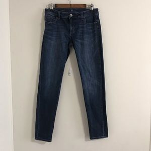 Kut from the Kloth Diana Skinny Dark Denim Jeans